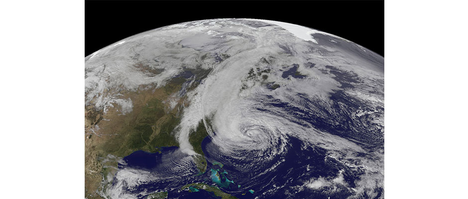 Hurricane Sandy. NOAA Photo.