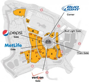 MLS Parking Map