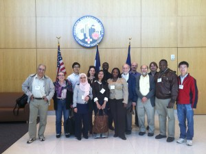 Thanks to Ahlam Tannouri for this photo from the 2013 CCICADA Retreat at Texas Southern University