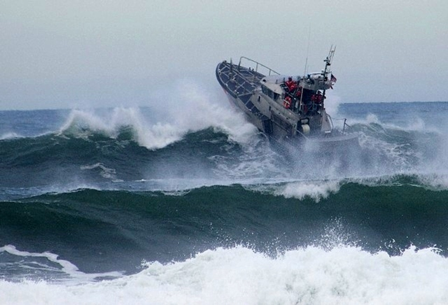 US Coast Guard search-and-rescue missions are dangerous and put responders at risk. Photo Credit: USCG