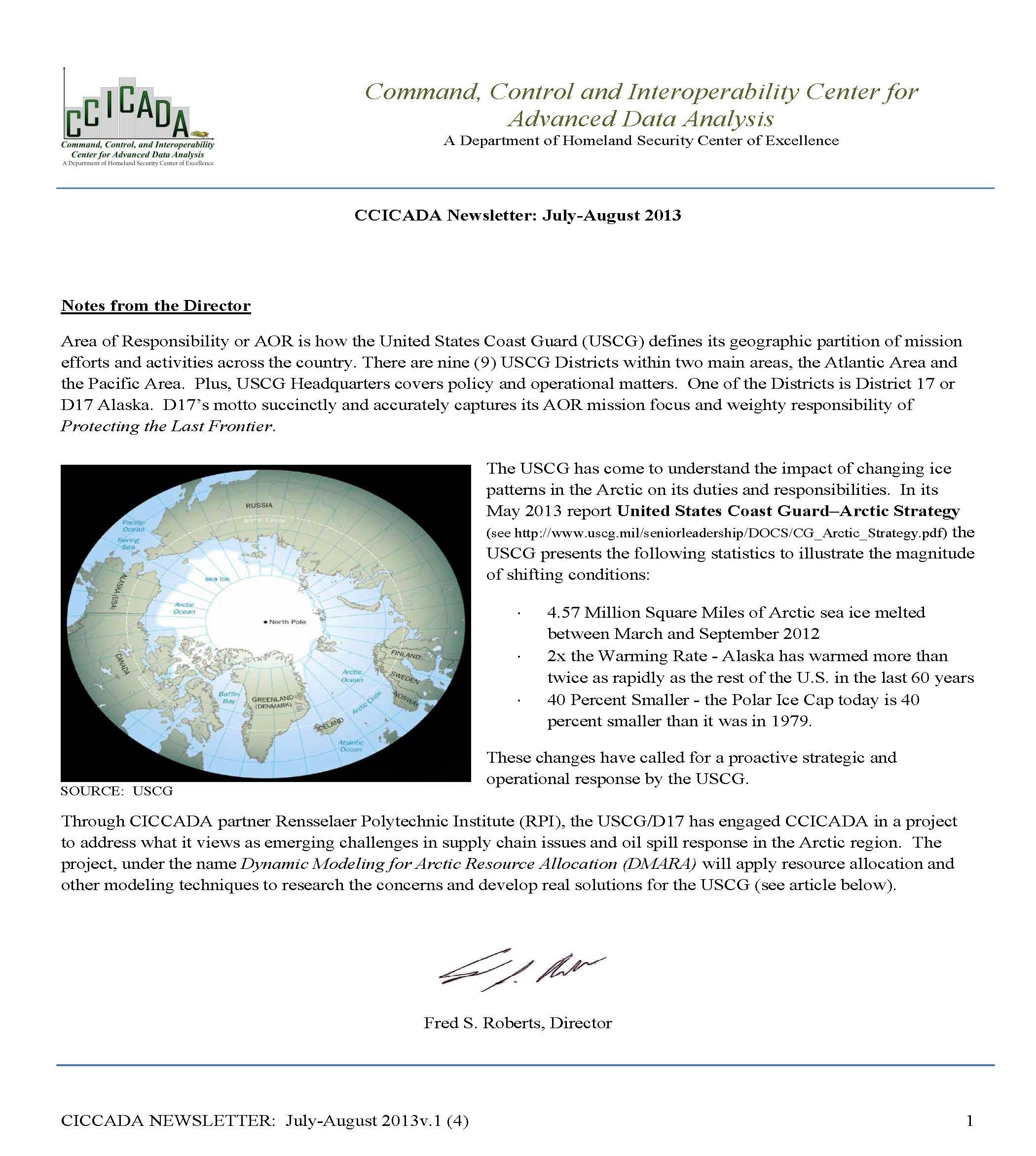 CCICADANewsletterv1No4JulyAug2013_Page_1