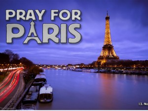The world prayed for Paris following the November 13, 2015 terror attacks that killed 130 people and injured hundreds more. Photo credit: Tobias Theiler (Flickr, Creative Commons)